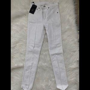 NWT Rag & Bone White Skinny Jeans Size 25